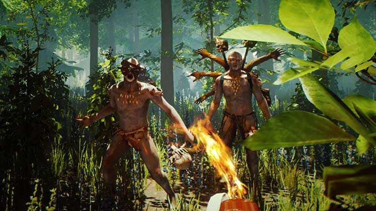 giao diện game the forest